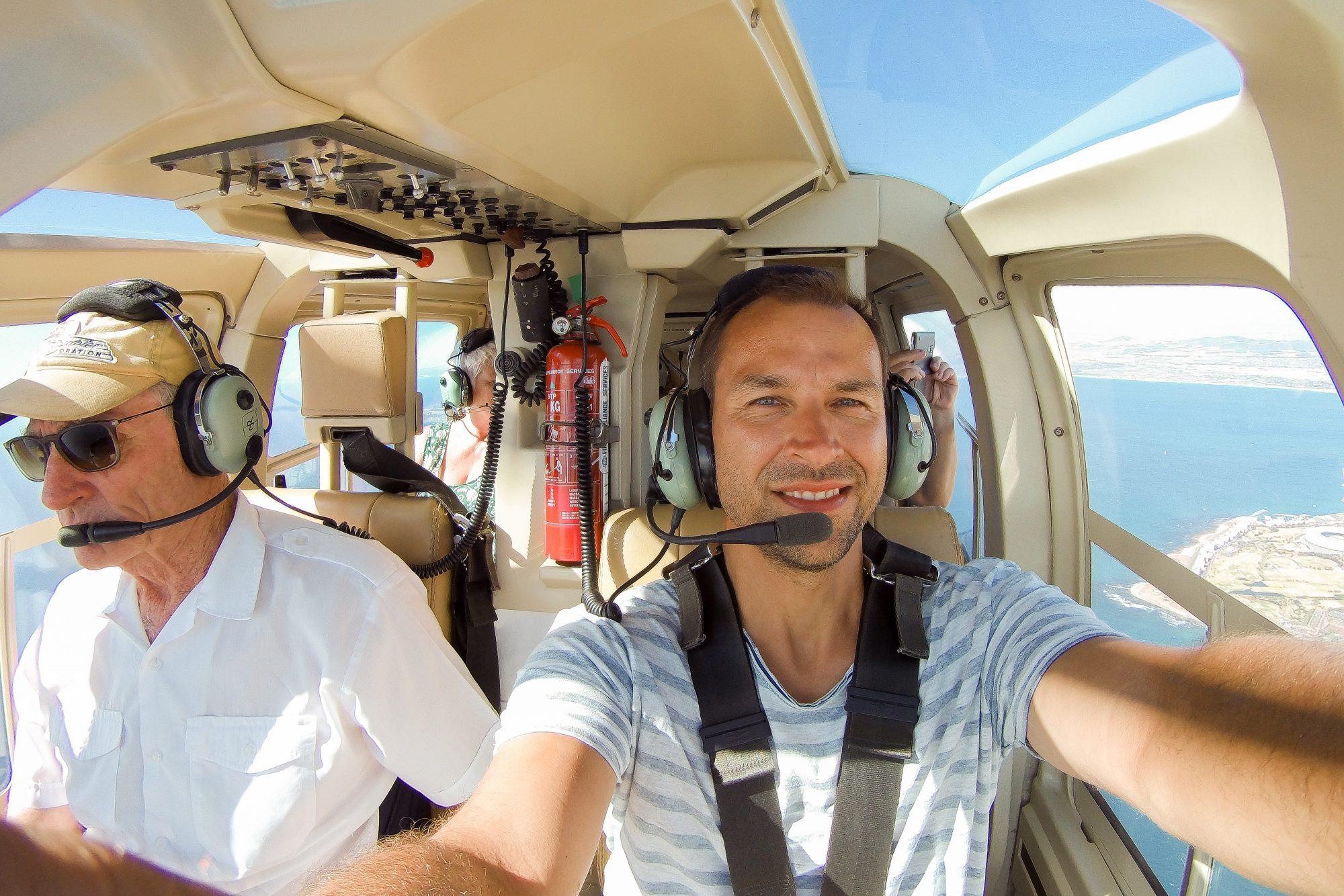 Andre Muschick Multivisionen Hubschrauber über Kapstadt