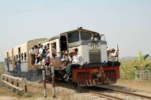 Multivision Weltreise Myanmar Zug